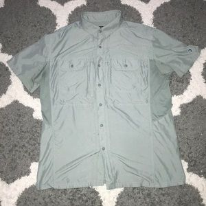 Kuhl Airspeed Short Sleeve Shirt Large Agave